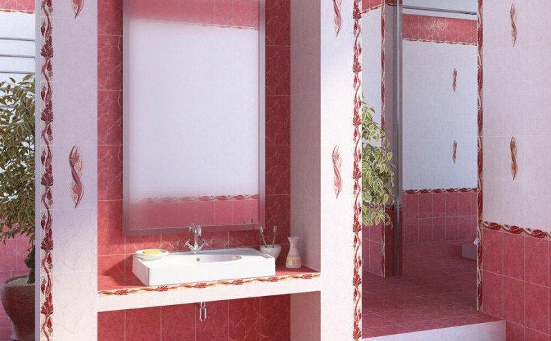 Голден Тайл Александрия Розовый