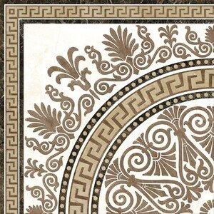 декор напольный Голден Тайл Meander Rosette 2А1810