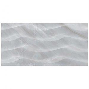 настенная плитка Голден Тайл Lazurro светло-серый рельеф 30х60