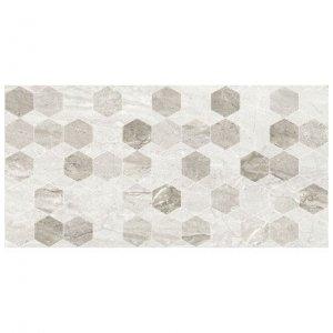 настенная плитка Голден Тайл Marmo Milano Hexagon декор 30х60