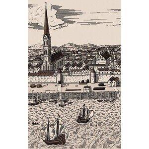 декор Голден Тайл Дамаско Е61301-1